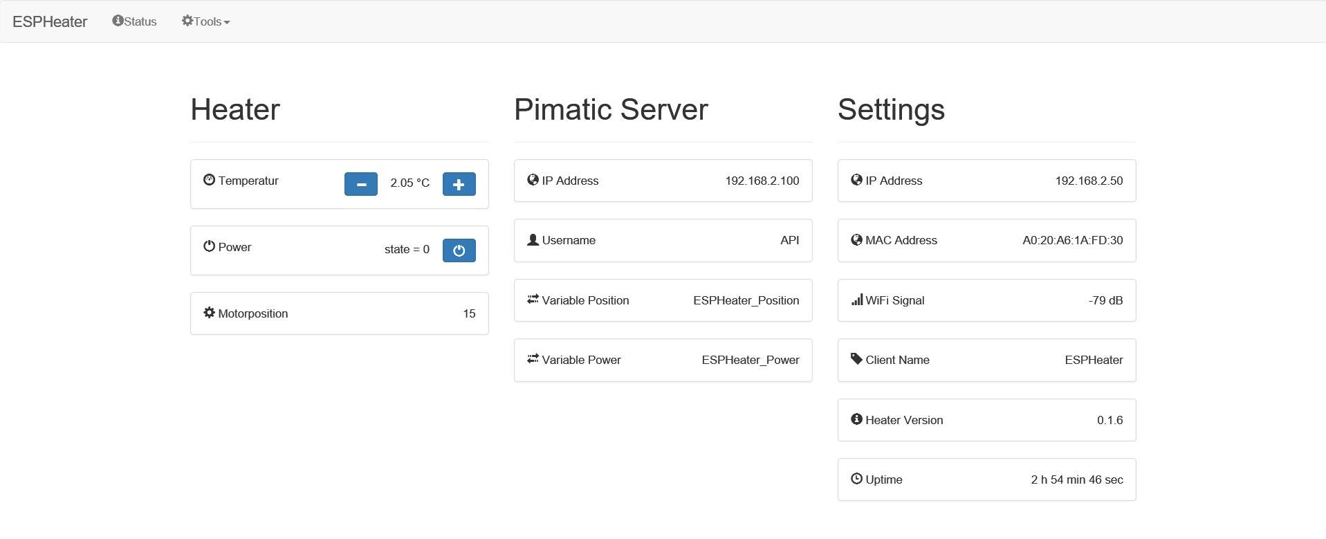Nest Webpage for ESP | pimatic home automation forum